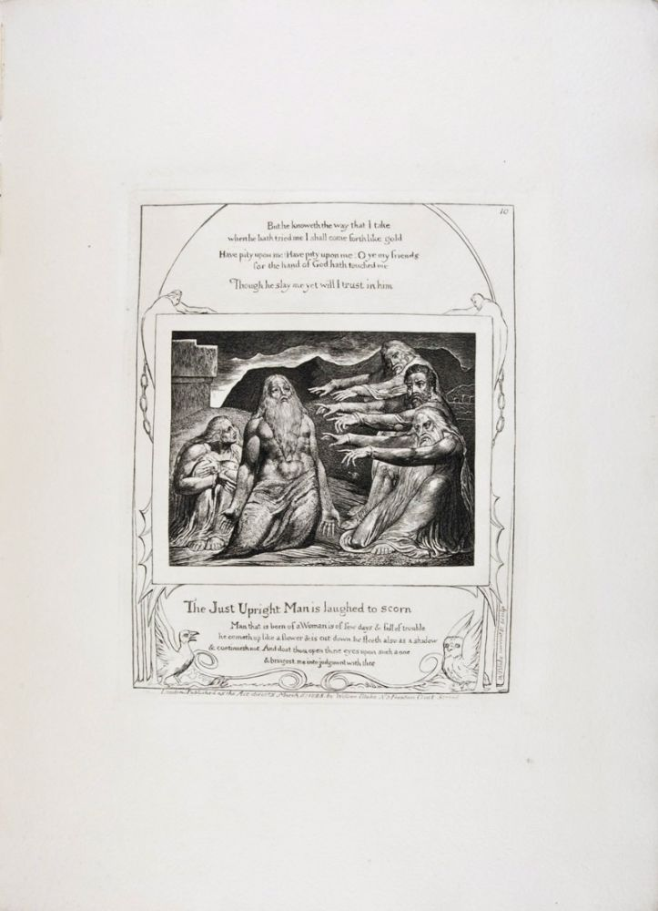 Illustrations of the Book of Job, in Twenty-One Plates