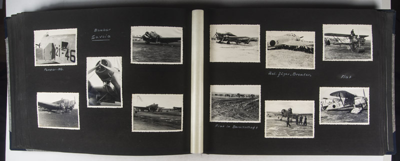Unique Fully Annotated Photo Album With 718 Silver Gelatin