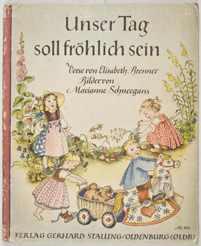 Unser Tag soll fröhlich sein (Our Day Shal Be Jolly). Elisabeth Brenner.