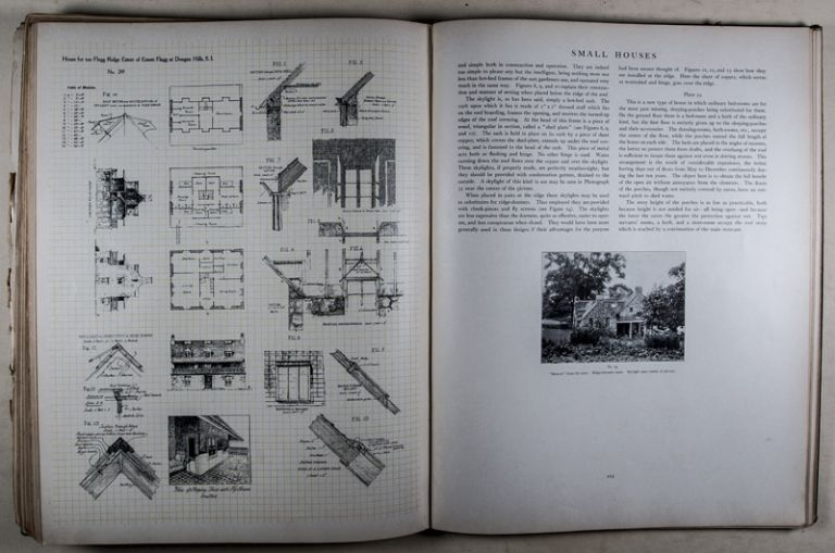 Small Houses: Their Economic Design and Construction. Essays on the Fundamental Principles of Design and descriptive Articles on Construction. Ernest Flagg.
