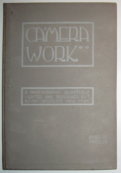 Camera Work [INSCRIBED] (32 numbered volumes + 1 special number). Alfred Stieglitz.