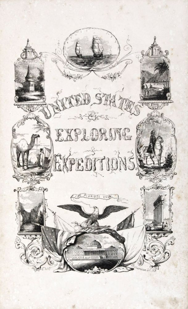 Voyage of the U. S. Exploring Squadron, Commanded by Captain Charles Wilkes, of the United States Navy, in 1838, 1839, 1940, 1841, and 1842 together with Explorations and Discoveries Made by Admiral D'Urville, Captain Ross, and other Navigators and Travellers; and an Account of the Expedition to the Dead Sea, under Lieutenant Lynch. John S. Jenkins.