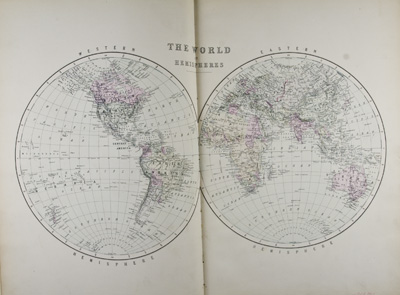 Bradley's Atlas of the World for Commercial and Library Reference. n/a.