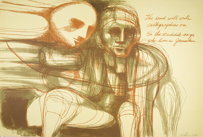 Two: Ten Lithographs by Arnold Belkin. Poems by Jack Hirschman. [SIGNED]. Jack Hirschman.