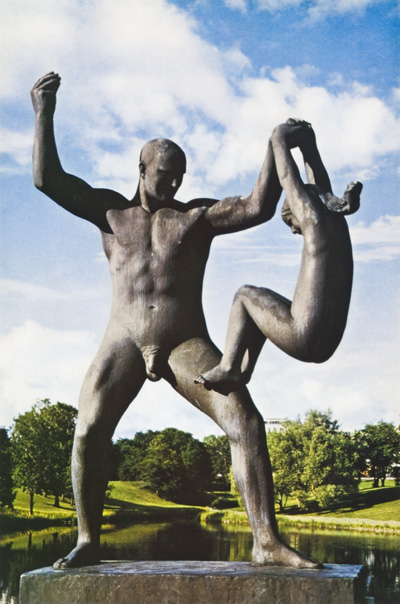 Embrace of Life. The Sculpture of Gustav Vigeland. Nathan Cabot Hale, Text, David Finn, Photographer.