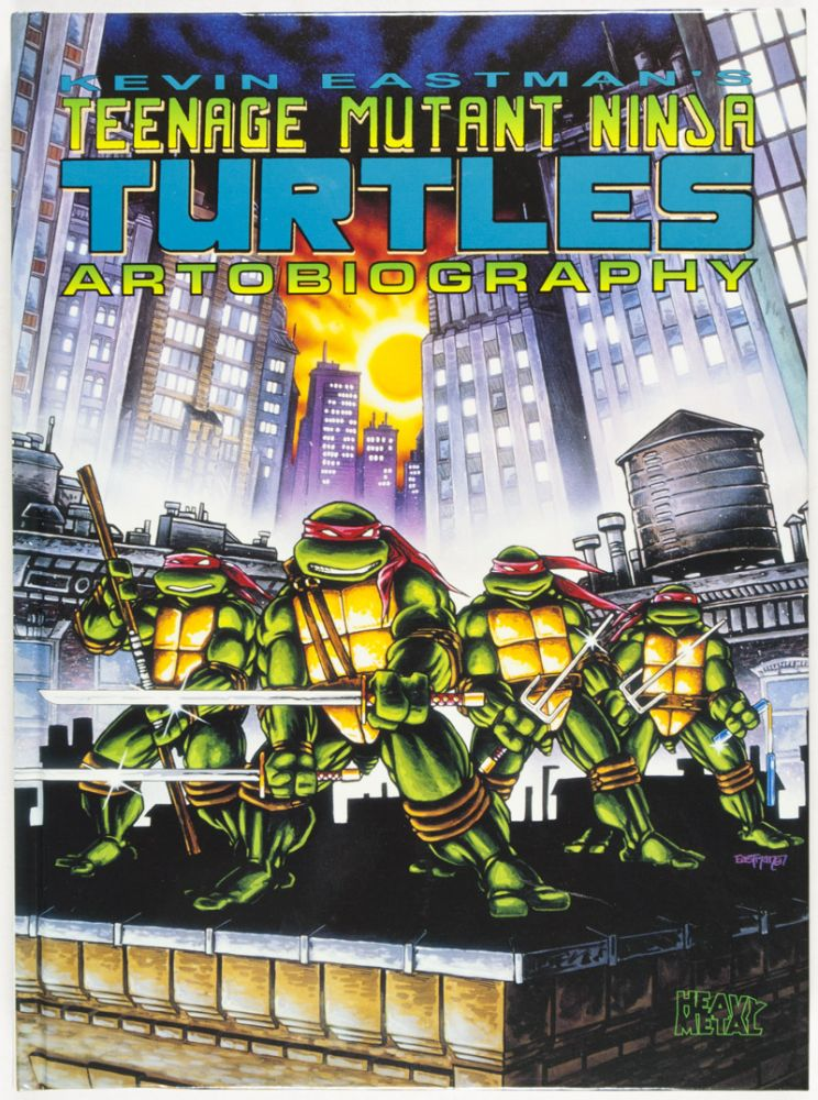 Kevin Eastman's Teenage Mutant Ninja Turtles Artobiography [INSCRIBED, SIGNED, AND WITH ORIGINAL DRAWING BY AUTHOR]. Kevin Eastman.