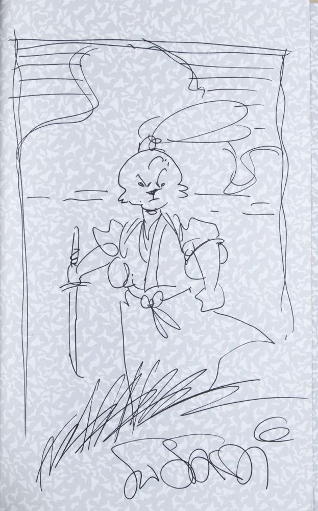 Usagi Yojimbo, Daisho, Book 9 [SIGNED WITH SKETCH BY ARTIST]. Stan Sakai.