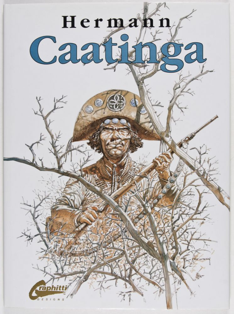 Caatinga [WITH ORIGINAL SIGNED AND NUMBERED LITHOGRAPH]. Hermann.