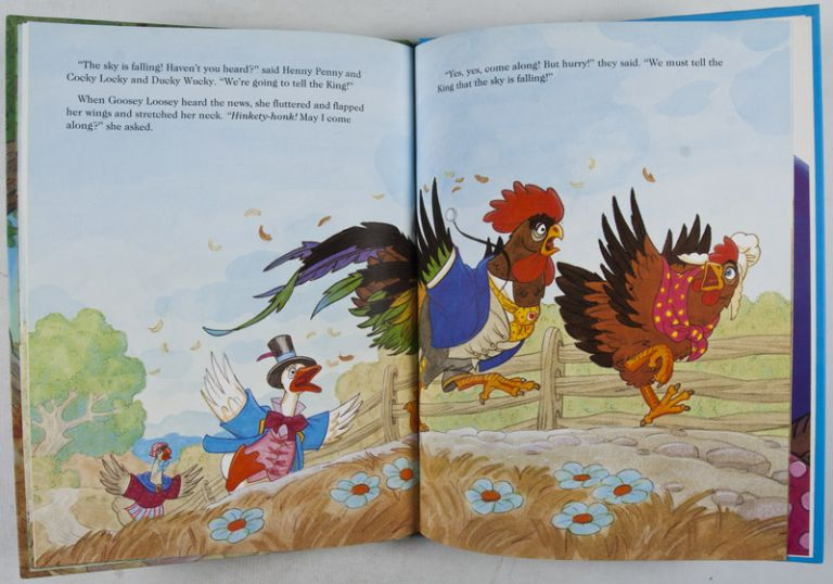 henny penny signed by illustrator