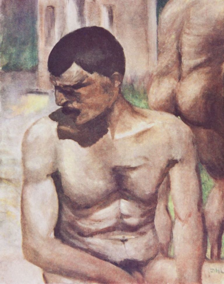 The Paintings of D. H. Lawrence. D. H. Lawrence.