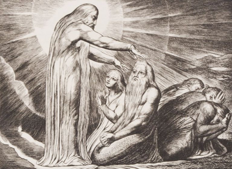 Illustrations of the Book of Job, in Twenty-One Plates, Invented and Engraved by William Blake. William Blake.