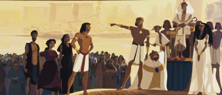 The Prince of Egypt. Dreamworks Animation.