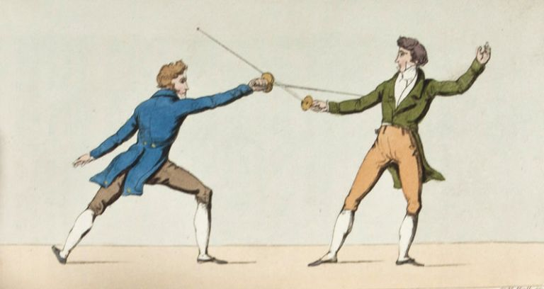 The Modern Art of Fencing Agreeably to the practice of the Most Eminent Masters in Europe. Guzman Rolando.