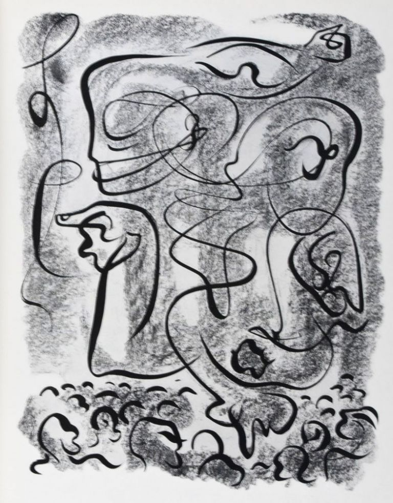 Le Serpent dans la Galère [INSCRIBED AND SIGNED BY BOTH THE AUTHOR AND THE ARTIST]. Georges Duthuit, André Masson, Text.
