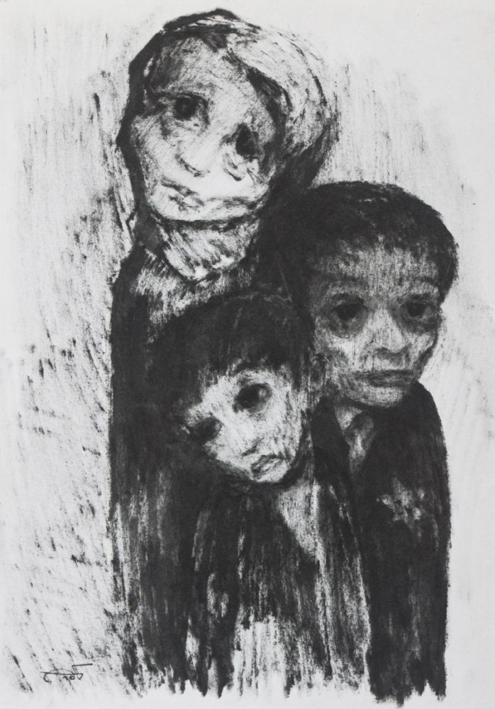 The Holocaust: Paintings and Drawings. Itzchak Belfer.