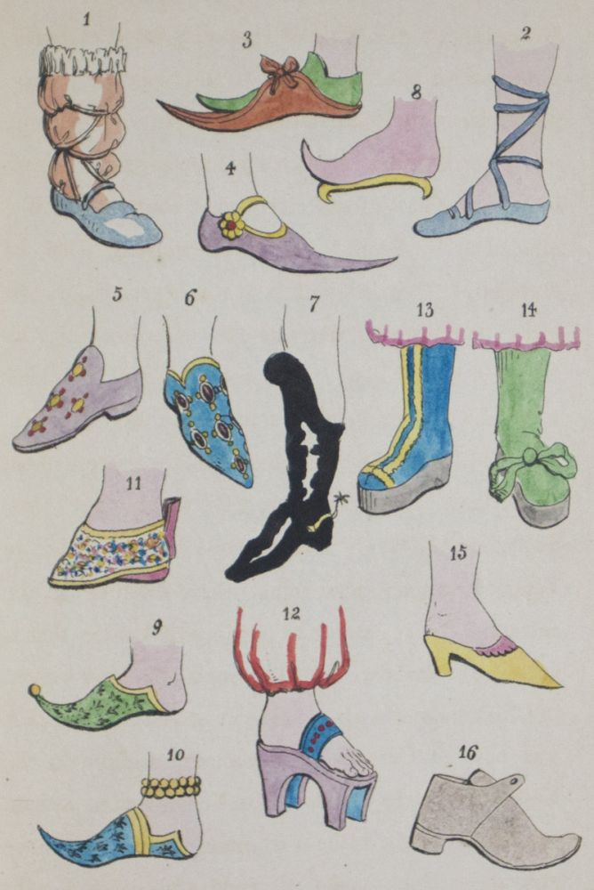 406b1ea193d60 The Book of the Feet, A History of Boots and Shoes, With Illustrations of  the Fashions of the Egyptians, Hebrews, Persians, Greeks and Romans, and  the ...