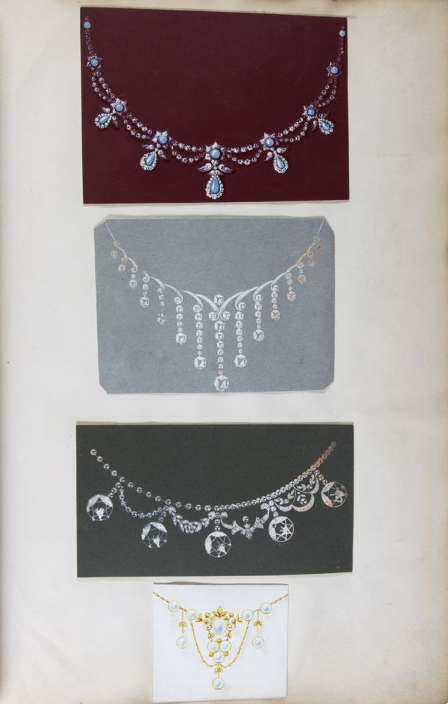 Jewelery Design Book from T&J Perry Jewellers London. T&J Perry Jewellers.