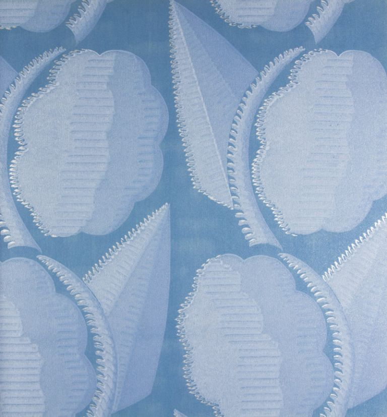 Chryso: Jeux d'Ombres - Wallpaper Special Line [ORIGINAL COLOR-SCREEN PRINTING WITH OVER-PRINTING]. Renova.