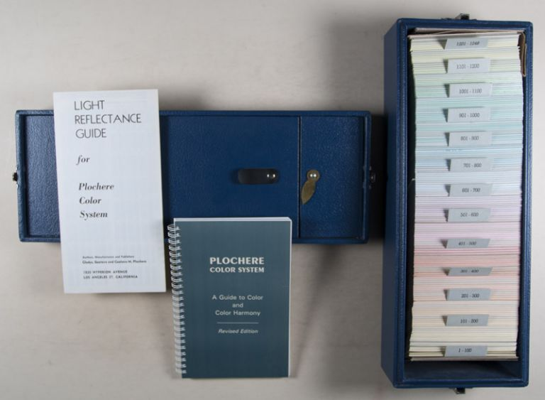 Plochere Color System. A Guide to Color and Color Harmony. To be used in Conjunction with the 1248 Color Tone Cards Included in this Set. Gustave Plochere.
