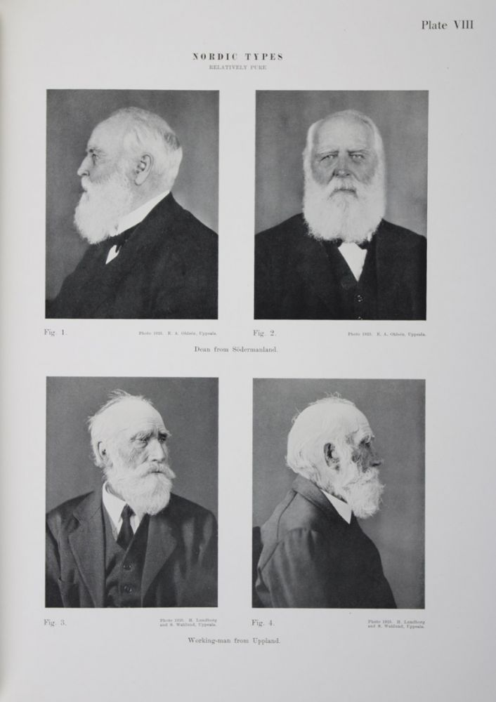 The Racial Characters of the Swedish Nation [WITH] The Race Biology of the Swedish Lapps Part I. Hermann Lundborg, F. J. Linders, S. Wahlund.