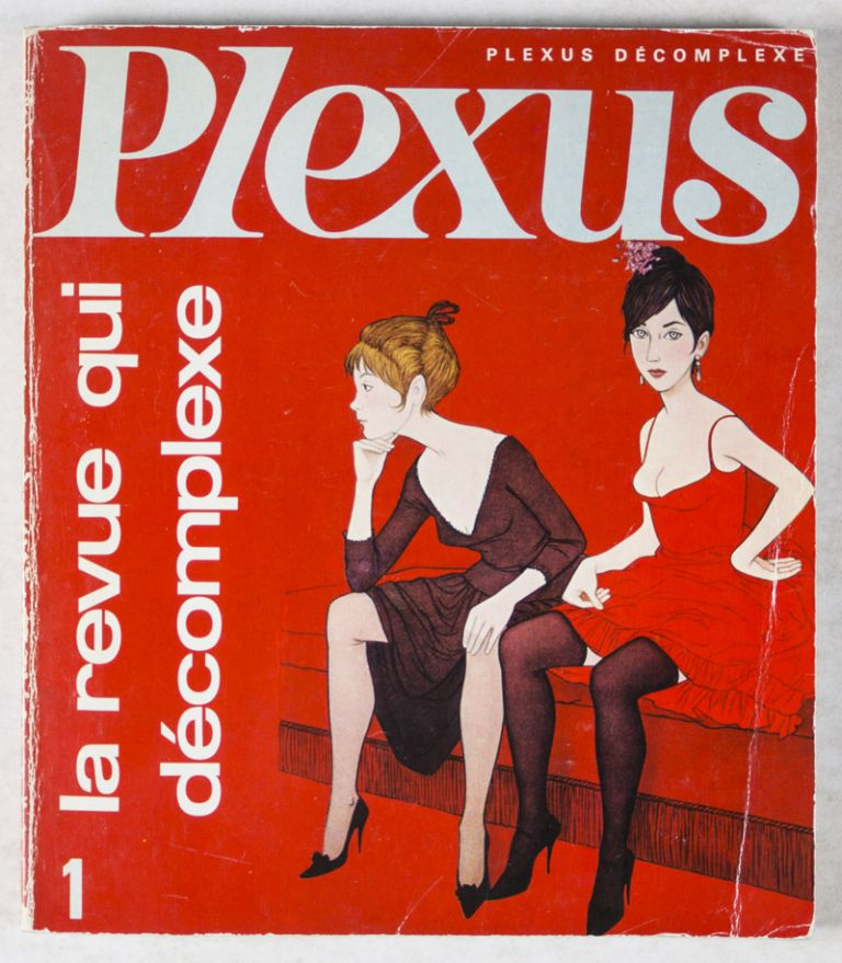 Plexus. Complete run from issue No. 1 (April/May 1966) to No. 37 (July 1970). Alex Grall, Louis Pauwels, Jacques Mousseau, Pierre Chapelot, Jean Chouquet Guy Breton, Lo Duca, Jacques Sternberg, Artistic Director, Editorial board.