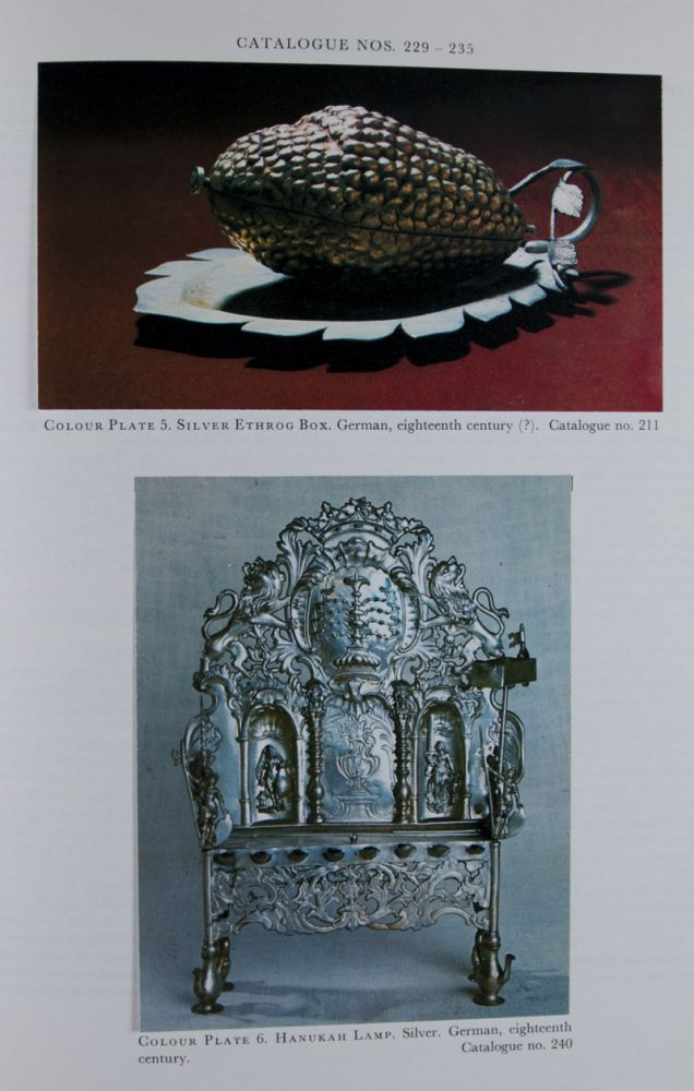 Catalogue of the Permanent and Loan Collections of the Jewish Museum, London. R. D. Barnett, Cecil Roth, Introduction.