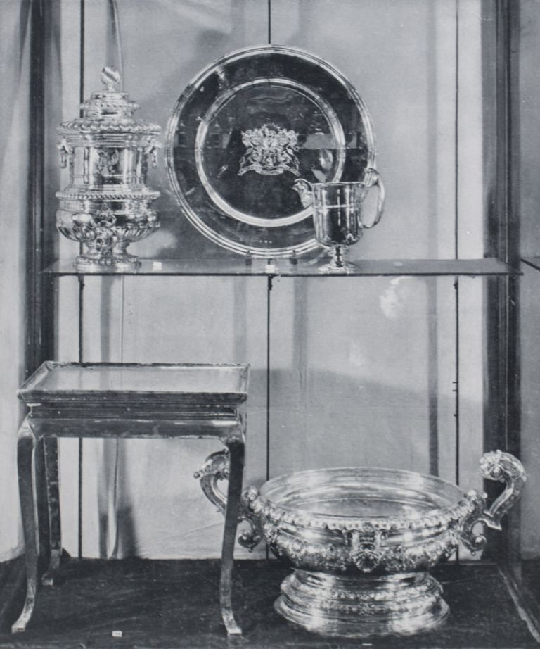 Catalogue of A Loan Exhibition of Old English Plate and Decorations and Orders. Philip Sassoon.