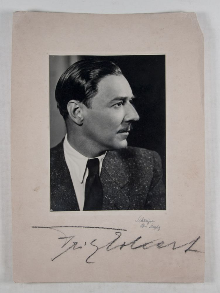 German Film Actor Fritz Eckert Killed at Mauthausen [INCLUDING SIGNED PHOTOGRAPHS AND PHOTO-POSTCARDS]. n/a.