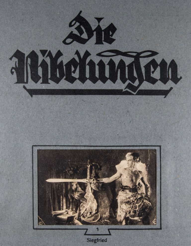 Die Nibelungen. A Collection of Promotional Material, Ephemera and Publications, Relating to Fritz Lang's Two Part Epic Film [6 PIECES]. Fritz Lang, director.
