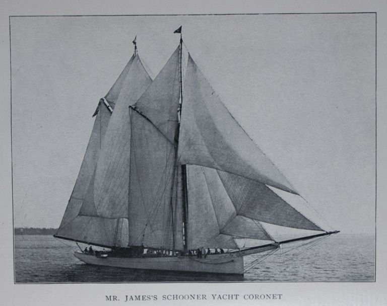 Corona and Coronet being a Narrative of the Amherst Eclipse Expedition to Japan, in Mr. James's Schooner-Yacht Coronet, to Observe the Sun's Total Obscuration 9th August, 1896. Mabel Loomis Todd.