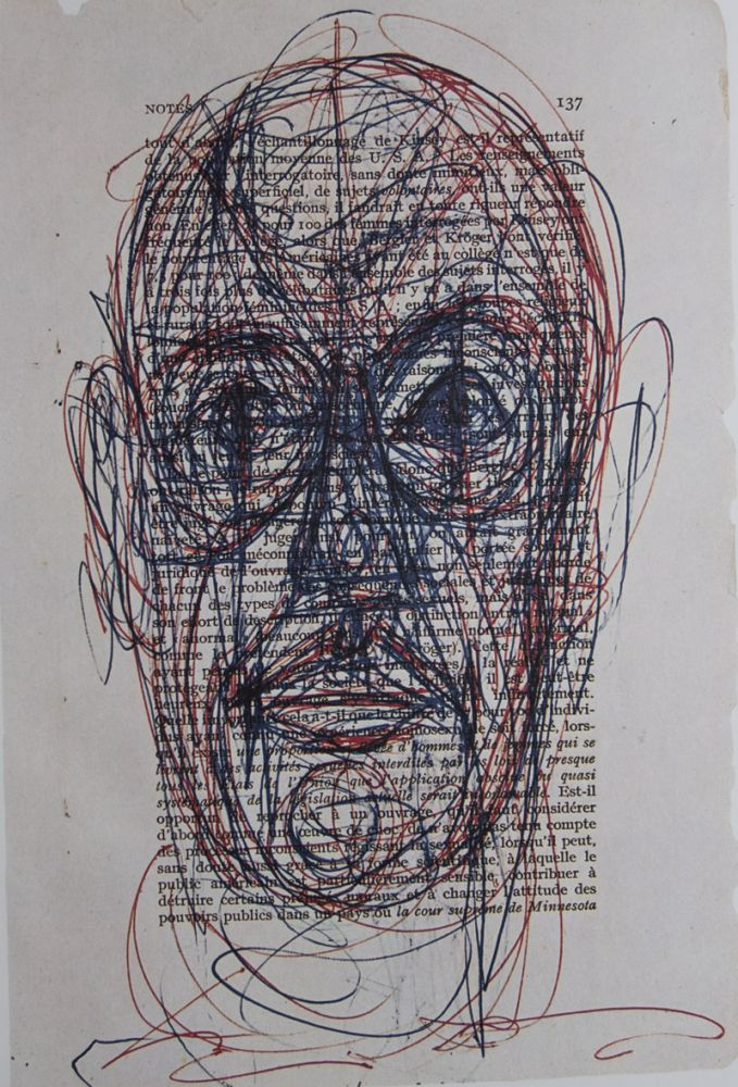 Alberto Giacometti Drawings [SIGNED]. James Lord.