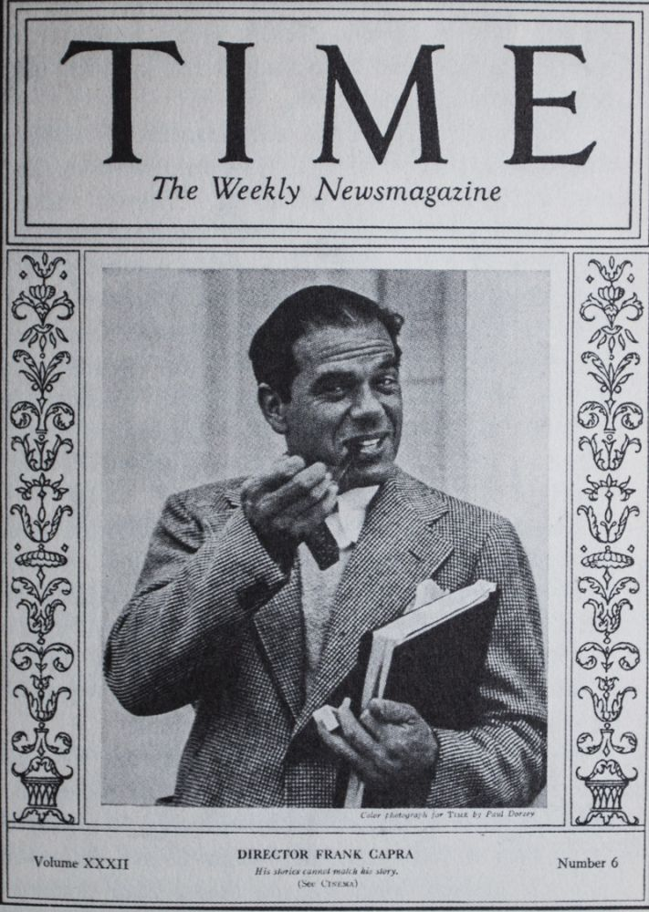 The Name Above the Title: An Autobiography [INSCRIBED AND SIGNED]. Frank Capra.