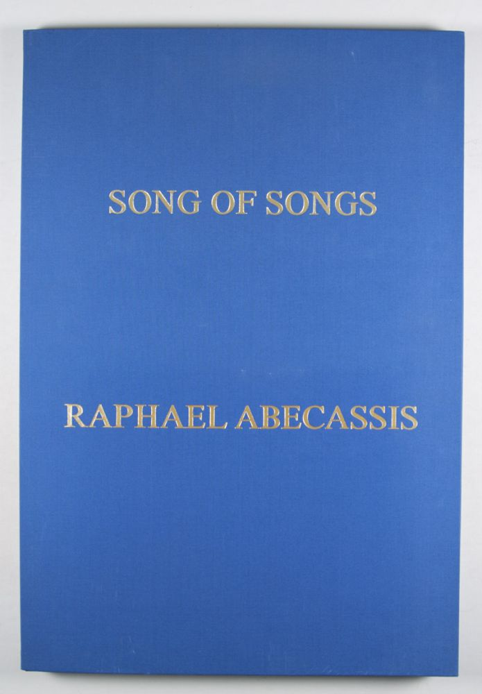 Song of Songs: Eight Original Serigraphs [SIGNED]. Raphael Abecassis, Serigraphs.