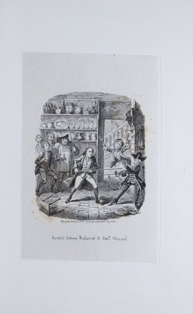 Illustrations of Popular Works, by George Cruishank: Part I (and only) [WITH SIX ETCHED PLATES]. George Cruishank.