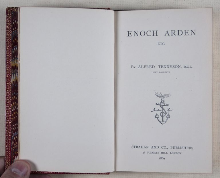 Enoch Arden [WITH A STRIKING FORE-EDGE PAINTING BY MARTIN FROST] [SIGNED BY THE ARTIST]. Alfred Tennyson, Martin Frost, Narrative, Fore-edge.