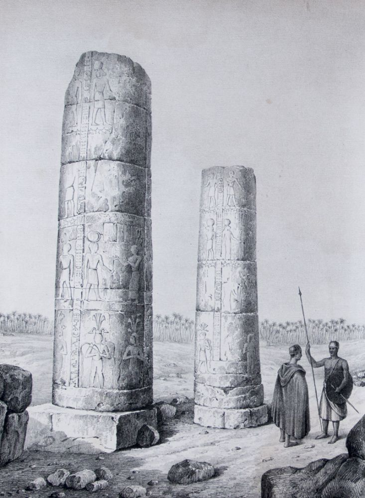 Travels in Ethiopia, Above the Second Cataract of the Nile; Exhibiting the State of that Country, and its Various Inhabitants, Under the Dominion of Mohammed Ali; and Illustrating the Antiquities, Arts, and History of the Ancient Kingdom of Meroe. G. A. Hoskins.