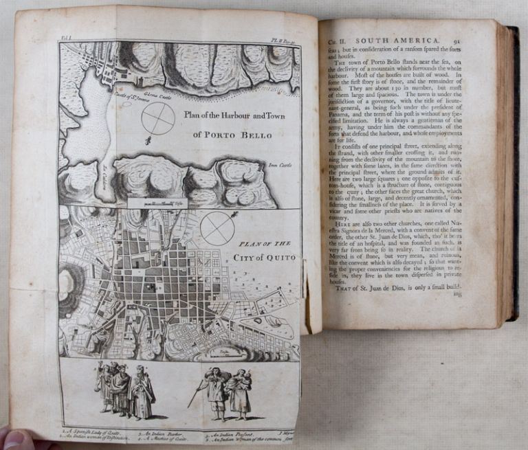 Voyage to South-America: Describing at Large the Spanish Cities, Towns, Provinces, etc. on that extensive continent. 2 Vols. George Juan, Antonio de Ulloa.