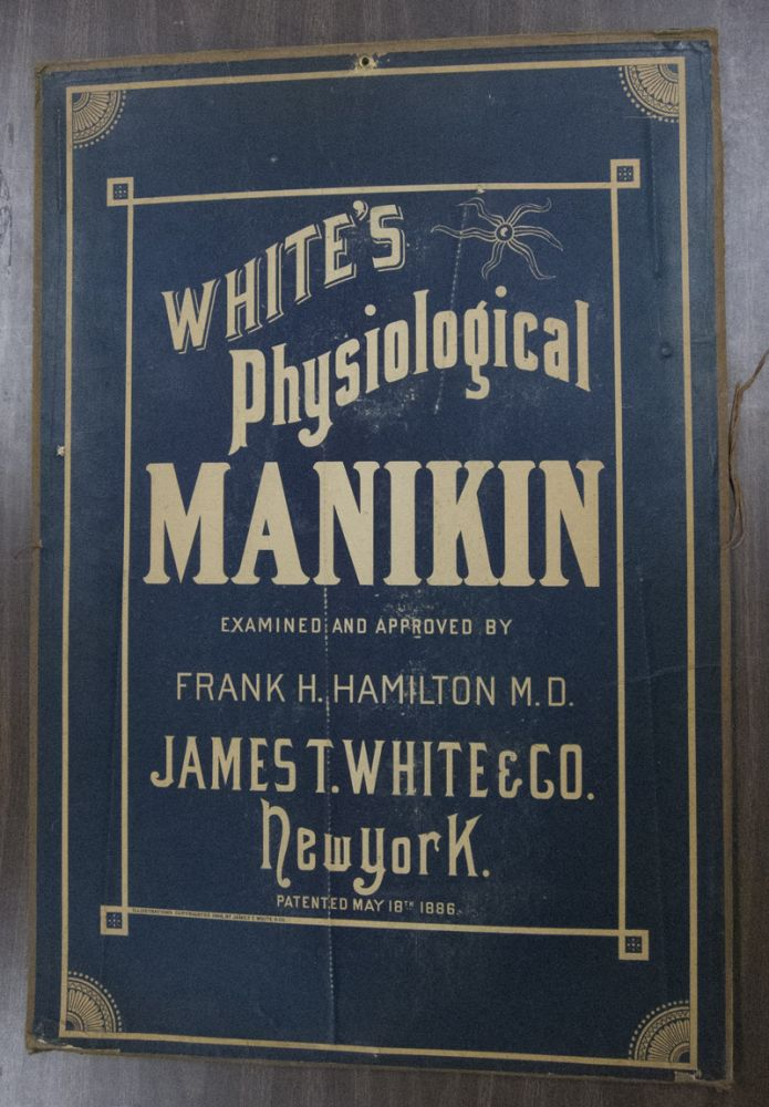 White's Physiological Manikin, First Edition [WITH] First Edition, Second Printing [2 vols]. James T. White.
