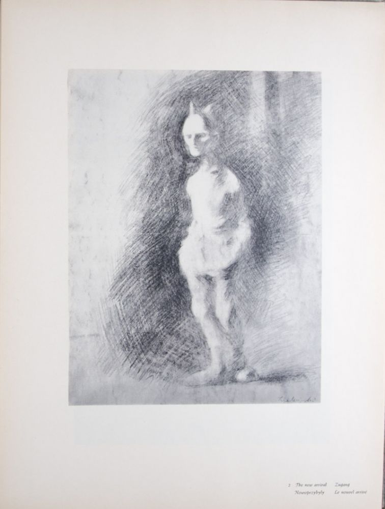 24 Drawings from the Concentration Camps in Germany. George Zielezinski, Jerzy, by.