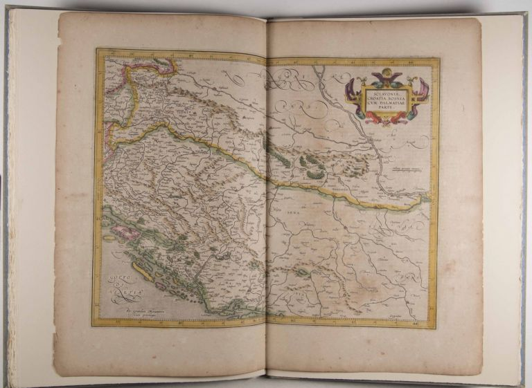A Leaf from the Mercator-Hondius World Atlas Edition of 1619. Norman J. W. Thrower, Essay.