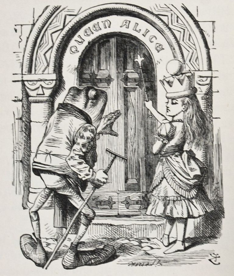 Through the Looking Glass. Lewis Carroll.
