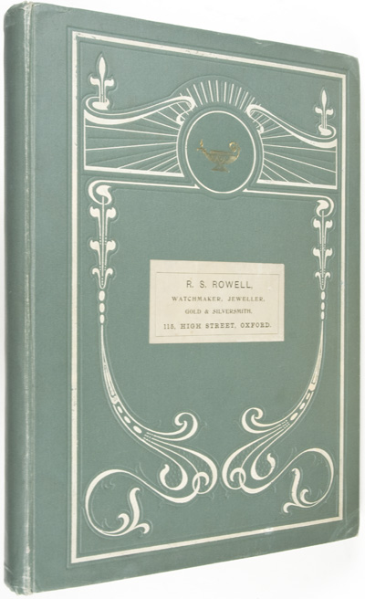 Watchmaker, Jeweller, Gold & Silversmith. R. S. Rowell.