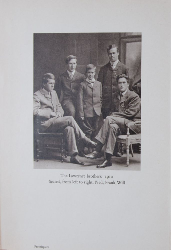 The Home Letters of T. E. Lawrence and His Brothers. n/a.