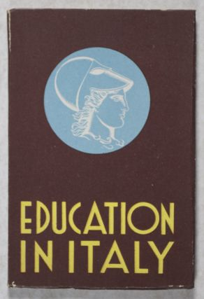 Education in Italy. Harold Goad, Michele Catalano