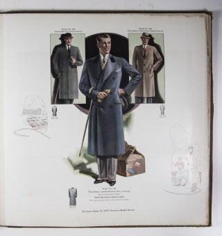 Fall and Winter 1931 Men's Catalogue: Study The Value, Dress Well And Be Successful