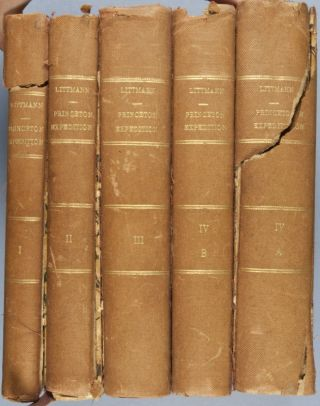 Publications of the Princeton Expedition to Abyssinia (4 volumes in 5)