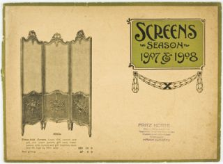 Screens Season 1907 & 1908. Fritz Korte, Co.