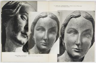Têtes de Statues Gothiques [WITH 8 ORIGINAL PHOTOGRAPHS BY THE ARTIST LAID IN]