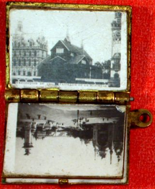 1900 Paris (miniature photo locket). n/a.