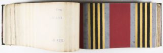 Aux Manufactures Réunies: 1925, 1928, 1931. [3 CATALOGUES WITH A TOTAL OF OVER 1500 HAND-SCREENED WALLPAPER SAMPLES]